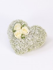 Heart Casket Adornment