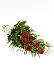 Simple Rose Sheaf - Red