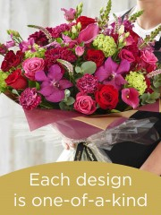 Hand tied made with the finest flowers