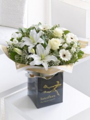 White Radiance Hand-tied